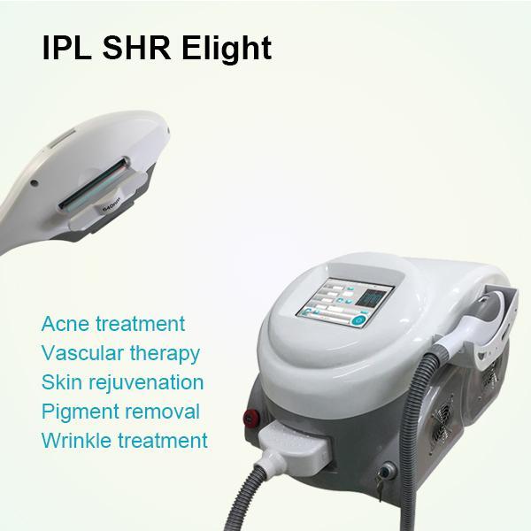 Máquina portátil OPT SHR EPILATOR MÁQUINA IPL MÁQUINA E LIGHT MÁQUINA DE ALMIENTO DE PELO IPL Dispositivo de rejuvenecimiento de la piel facial