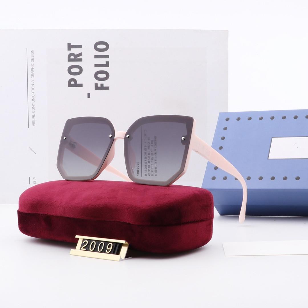 Caixa original Óculos de óculos de óculos de óculos 2009 mulheres vintage óculos de sol óculos feminino grande diamante shade uv400 design wx8