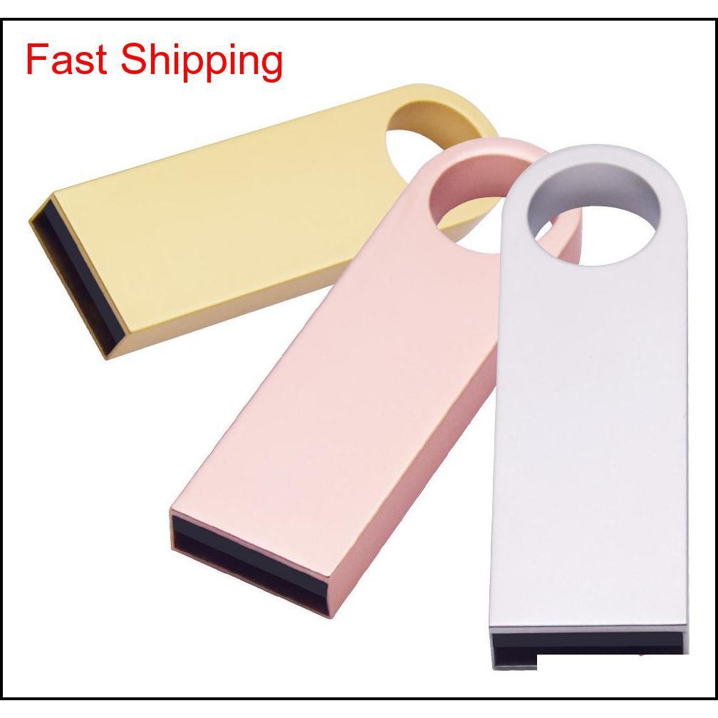Unidades de disco duro exteriores al por mayor 20 Metal Key Stick Pen 8GB 16GB 32GB 64GB 128GB USB Drive Flash Memoria Regalo de Navidad promocional Z1CG 9K1LWW