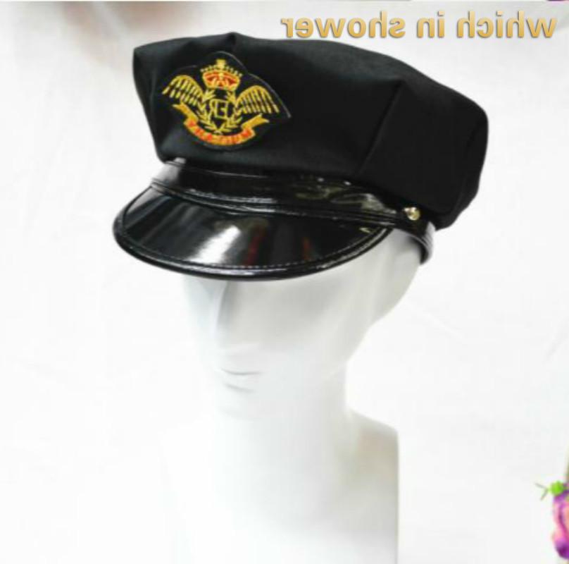 Что в душе черный капитан для женщин мужчин вечеринка косплей спектакль аксессуары мужские женские военные шляпы военно-морские