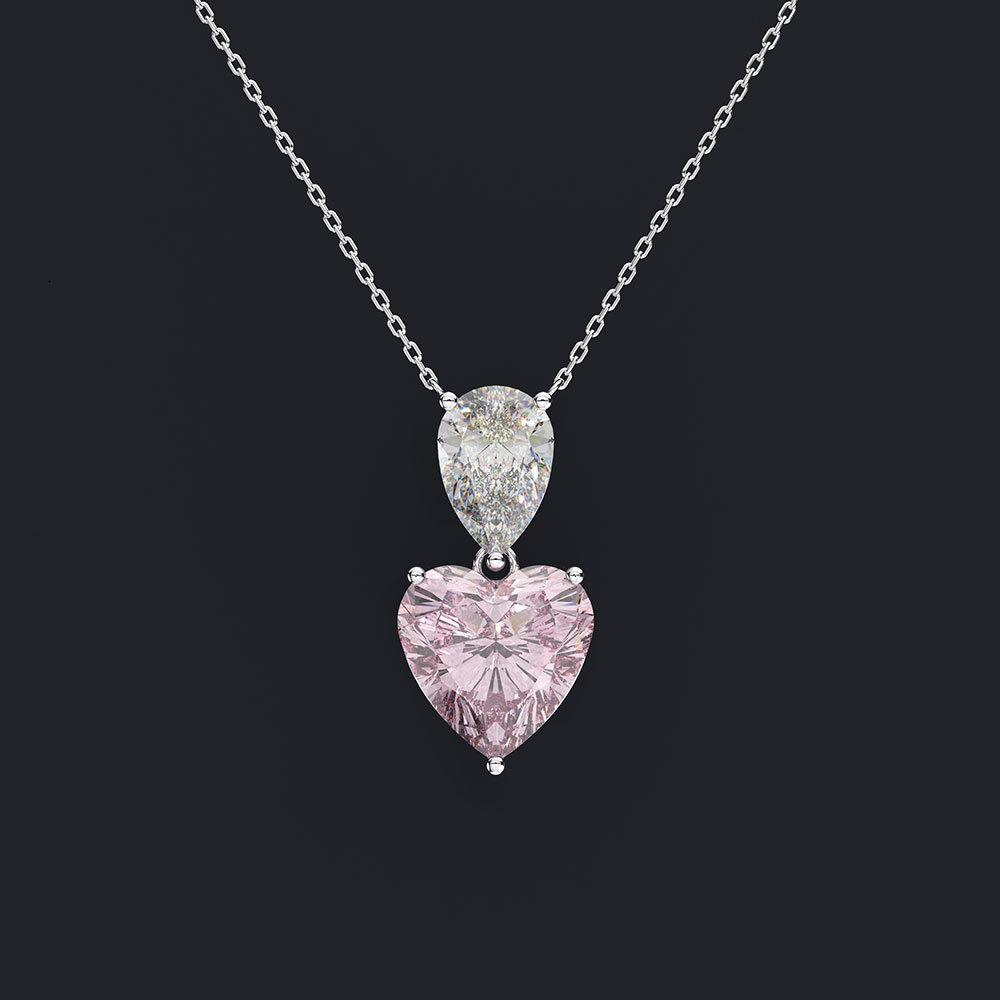 HBP Fashion Shipai Schmuck Kreative Neue Herz Halskette Frauen Imitation Clawicle Kette Anhänger Geschenk
