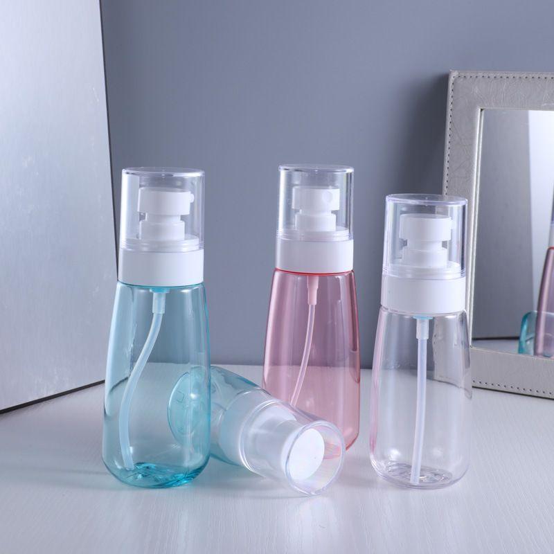 Nebel Spray Flasche Kunststoff Reise Nachfüllbar Transparent Airless Pumpe Parfüm Taschenflasche Individuelles Paket GWB7772