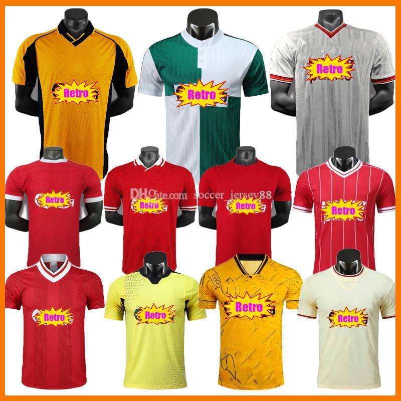 Versión retro Soccer Jerseys 00 01 04 05 81 84 85 86 89 93 94 96 95 97 98 Rush Torres Kuyt Fowler John Barnes Camisa de fútbol de kits de vintage clásico
