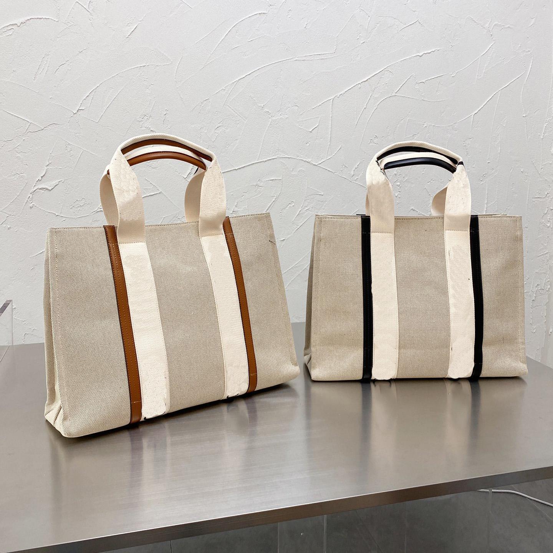Luxurys Designers Sacs Sac à main Femmes Sac à provisions Grandes quantités Quantité Sacs à bandoulière High Quanlity Toile Sacs de deux tailles à choisir