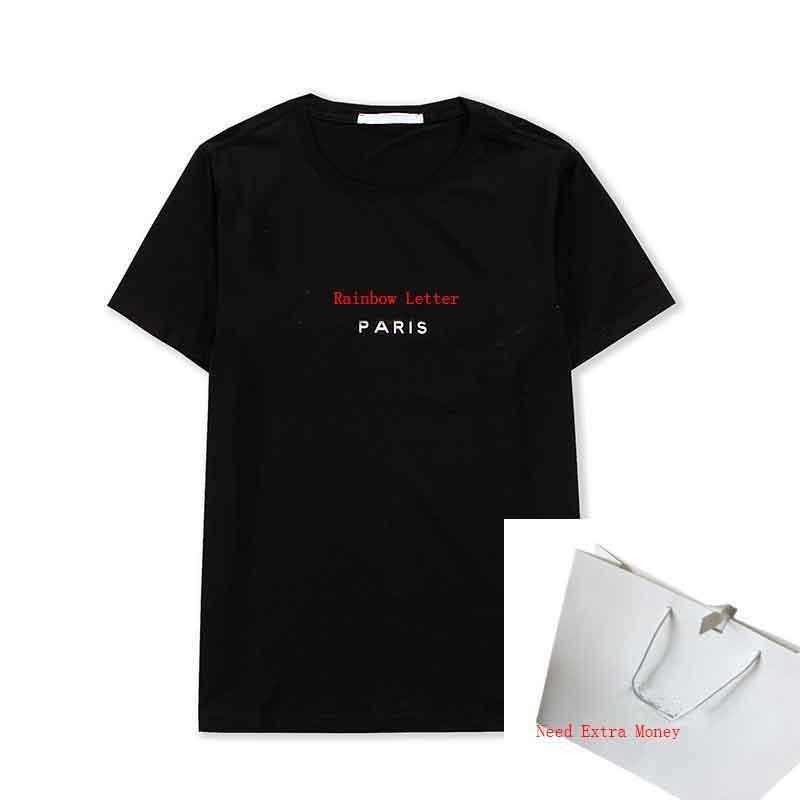 21ss Стилист Женщины футболка с коротким рукавом повседневная мода активные женские футболки футболки мужские футболки 4 цвета