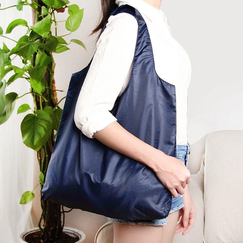 2021 Neue Hot Shopping Taschen Waschbare faltbare Einkaufen Einkaufstaschen Robuste leichte Öko-freundliche Umhängetasche