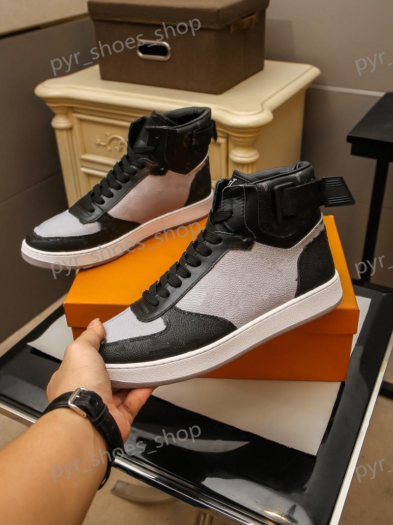 Louis Vuitton LV shoes sapatilhas tênis sapatos de alta qualidade sapatos de luxo lace-up sneakers marca homens sapatos casuais tamanho 38-45 modelo