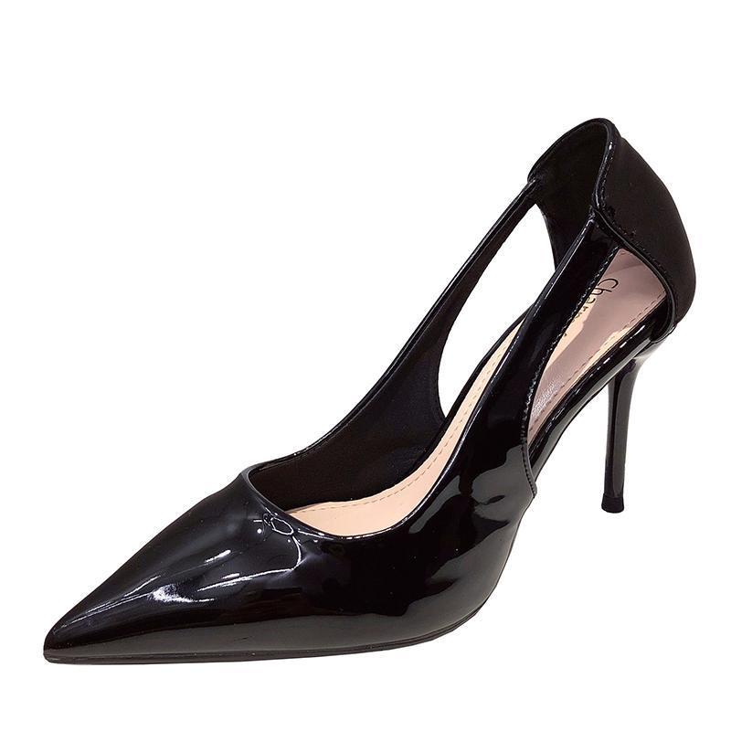 Платье обувь Дамы Высокие каблуки Сплошные Тонкие Модный Офис Элегантный