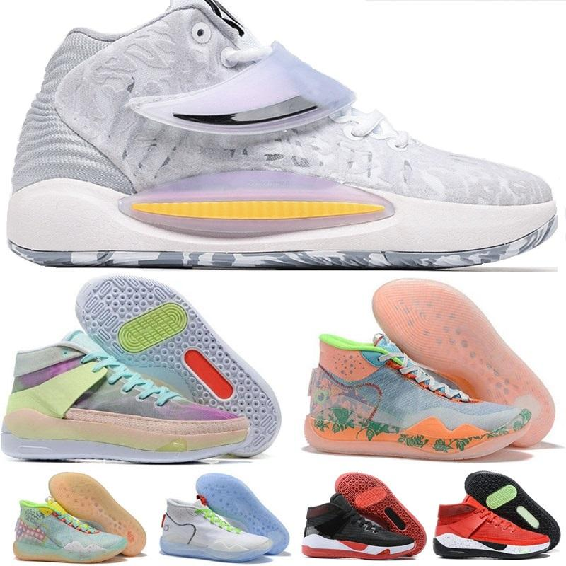 KD 12 Kevin Durant 13 Basketballschuhe KY-D Traum Tante Pearl Pfirsich Jam Eybl Nationals EP 14 Schuh Deep Royal Wavvy Hyped University Red Chill Sychedelic Home Sneakers