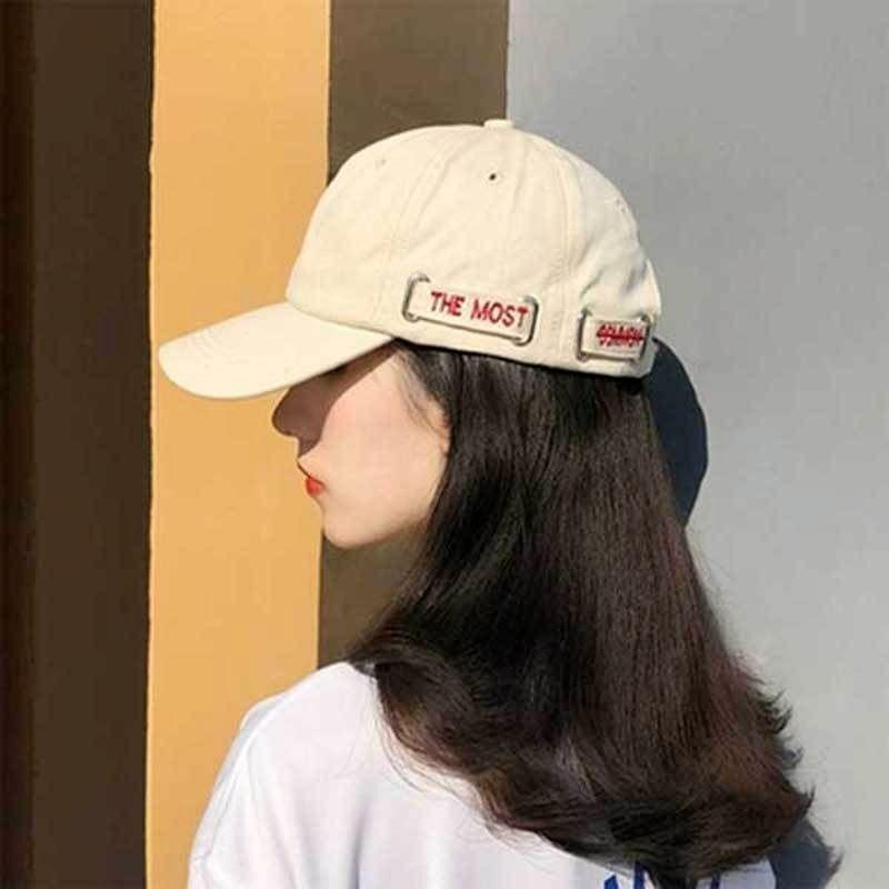 Kugelkappen Inisex Koreaner Stil Chic Ins All-Match-Mode-Mützen Damen männlich Sommer Paar Freizeit Daily Casual Caps Streetwear Hip Hop Neueste
