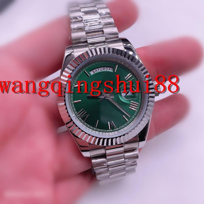 Uomo classico Uomo Antico Arabo Arabo 41mm Sapphire Guarda orologi Sport Orologi automatici Movimento Acciaio inossidabile meccanico in acciaio inox