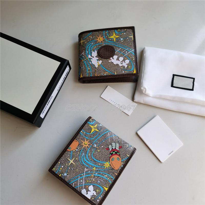 Новейшие мужские и женские кожаные короткие кошелек тонкие мужские кошельки деньги клип кредитные карты доллар кошельки с коробкой
