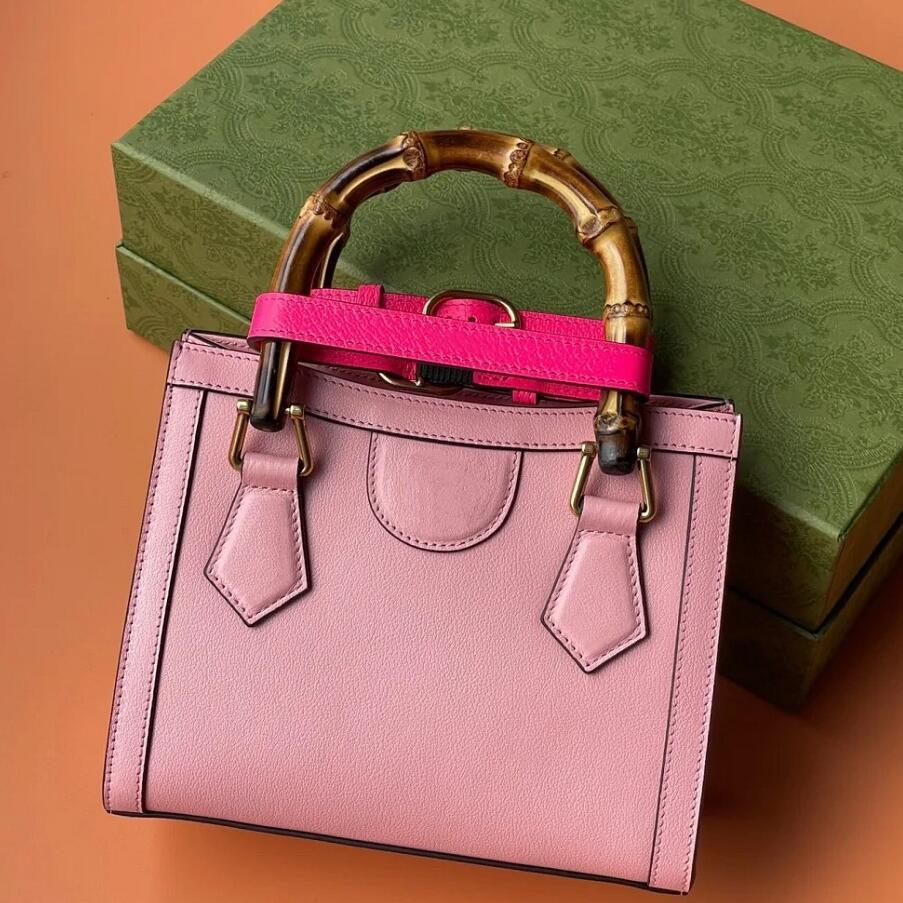 2021 Bamboo Diana Hadbags Mulheres Sacos de Ombro Mais Novo Designer de moda Crossbody totes letra clássica com alta qualidade