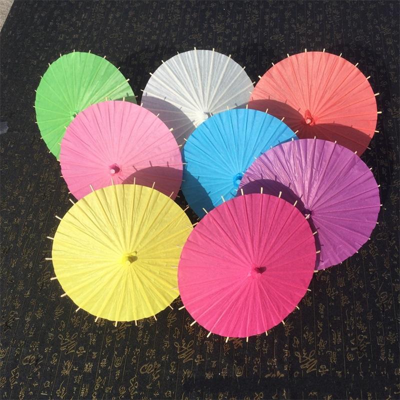 DHL 20/30/40/60 سنتيمتر الصينية اليابانية Eplicesepaper مظلة مظلة الزفاف وصيفات الشرف حزب الحسنات الصيف الشمس الظل كيد الحجم