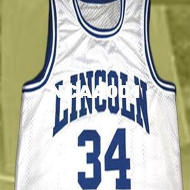 Vintage 21SS # 34 Jesús Shuttleworth High School He recibido el juego College Jersey Tamaño S-4XL o CUSTOM CUALQUIER NOMBRE O NÚMERO