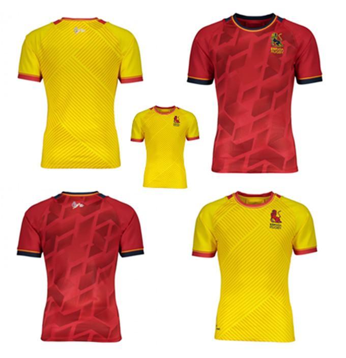 2020 2021 Новая Международная Лига Испания Главная Красная Регби Джерси Национальная команда регби Джерси Испанская Лига высшего качества S-5XL