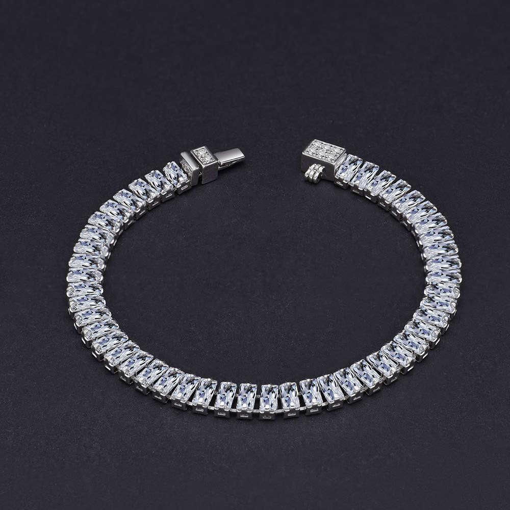 HBP Fashion Jewelry de lujo 2021 Nueva simulación de pulsera completa de alto carbono 2.4 * Cadena de diamantes de fila de 5 mm