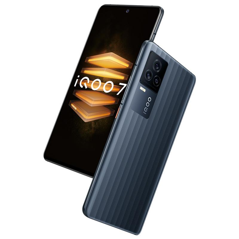 "Original Vivo IQOO 7 5G Mobile Phone 12GB RAM 256GB ROM Snapdragon 888 48MP AR Android 6.62"" Full Screen Fingerprint ID Face Wake Cell Phone"