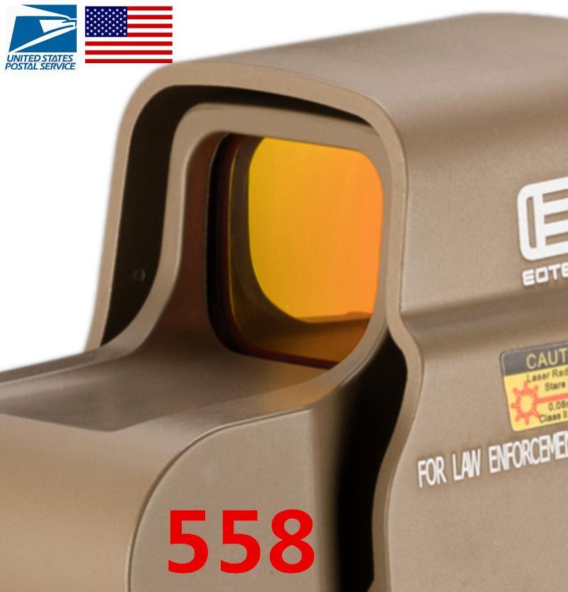 سريع الشحن القزحية ir 558 reflex المجسم 558 الأحمر دوت البصر نطاق للصيد اطلاق النار دروبشيبينغ