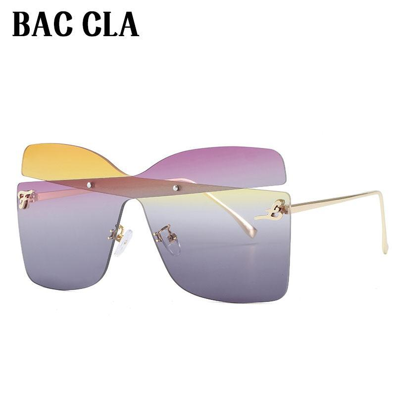 BAC CLA Мода Солнцезащитные очки Женщины Дамы Красная Мода Негабаритные Квадратные Солнечные Очки Вождение Оттенки Очки UV400 Gafas de Sol
