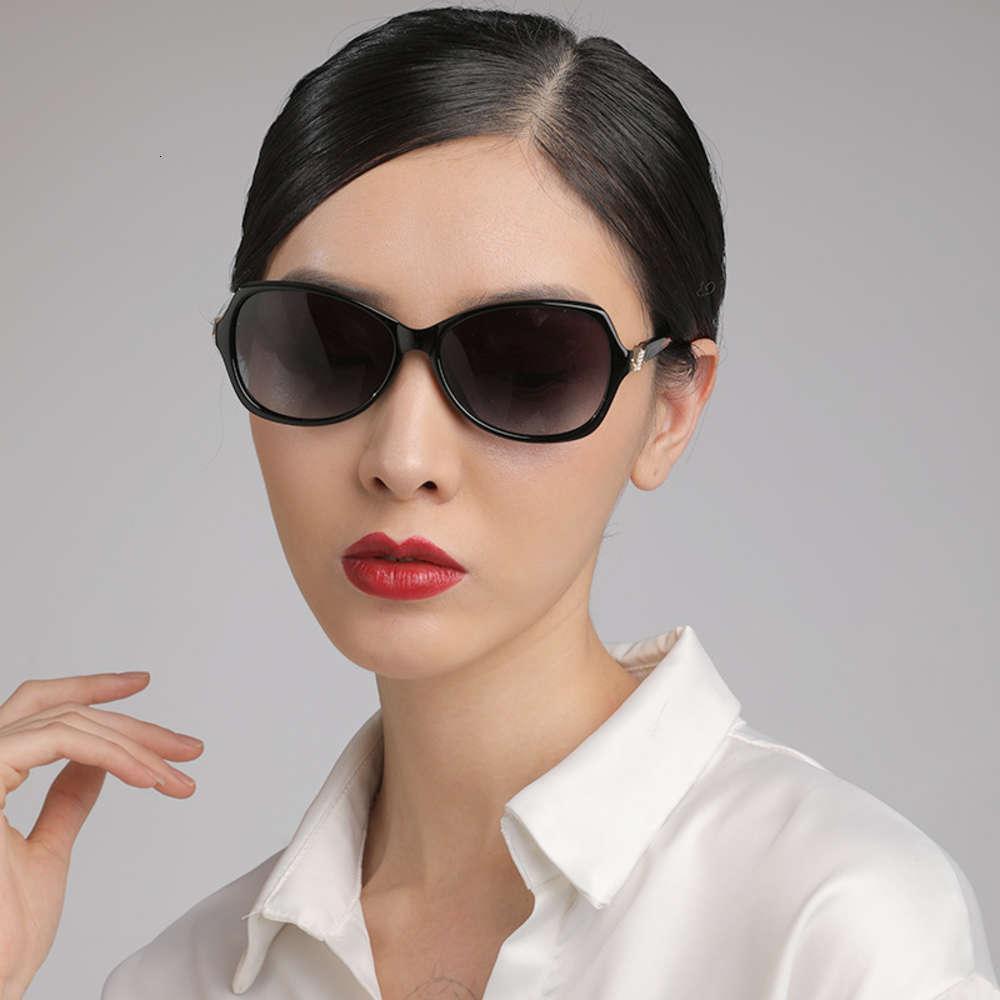 Gafas de sol Las nuevas femeninas de la moda de las gafas de polarizaciones de las mujeres gafas de sol rojas de la red de la moda de las mujeres 7318