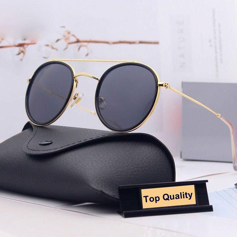 2021 여성용 녹색 회색 G15 선글라스 금속 태양 안경 52mm UV400 그라디언트 디자이너 가파스 안경 여성