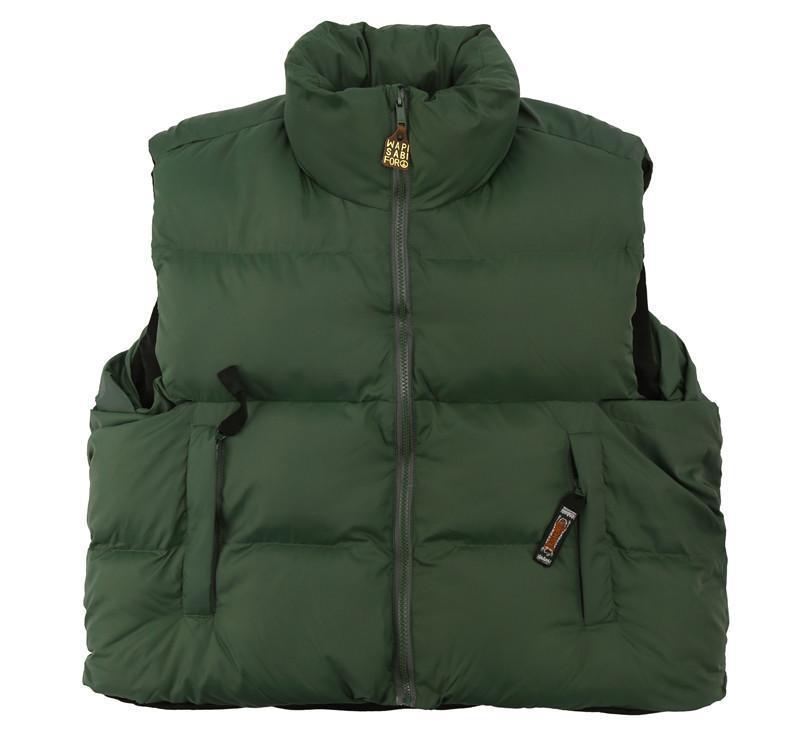 Мужские жилеты джентльмен Люкс 2021 Tiger Kapital Cautts Куртки / теплые Puffer Parkas Утолщенные зимние мягкие молния высокое качество C57