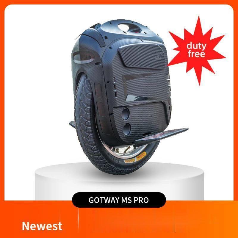 2020 최신 GOTWAY MSUPER X PRO 100V / 1800Wh 전기 외발 자전거 MSP MSP MENOWHEEL ONE 휠 스쿠터 2500W 70km / h + 블루투스 스피커