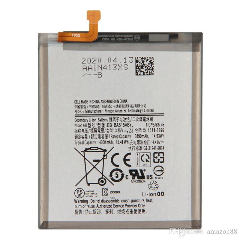 Yepyeni A51 Pil EB-BA515ABY Samsung Galaxy Samsung Galaxy A51 SM-A515 SM-A515F / DSM 4000 mAh Piller