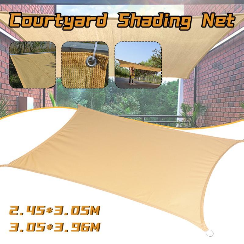 Shade Waterproof Sun Sail Outdoor Awnings For Garden Yard Beach Camping Patio Pool Awning Summer Shelter Tent