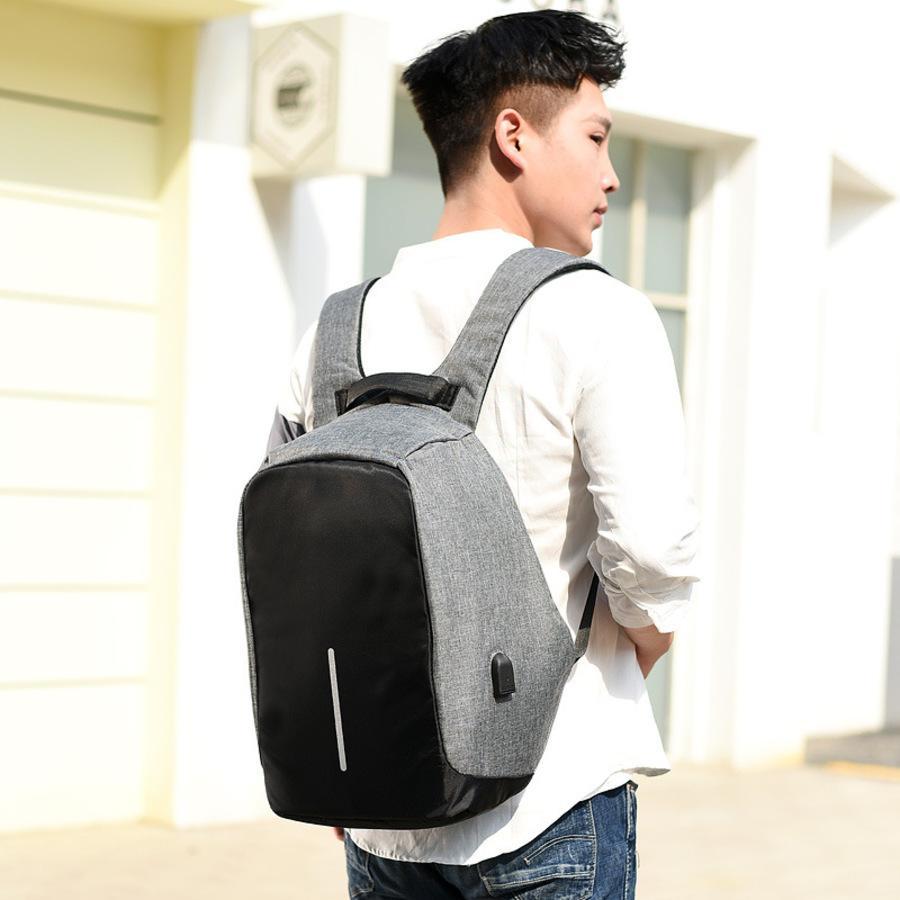 Novo laptop portátil homens do saco dos homens tendência Coreano Present Business Backpack 92xm