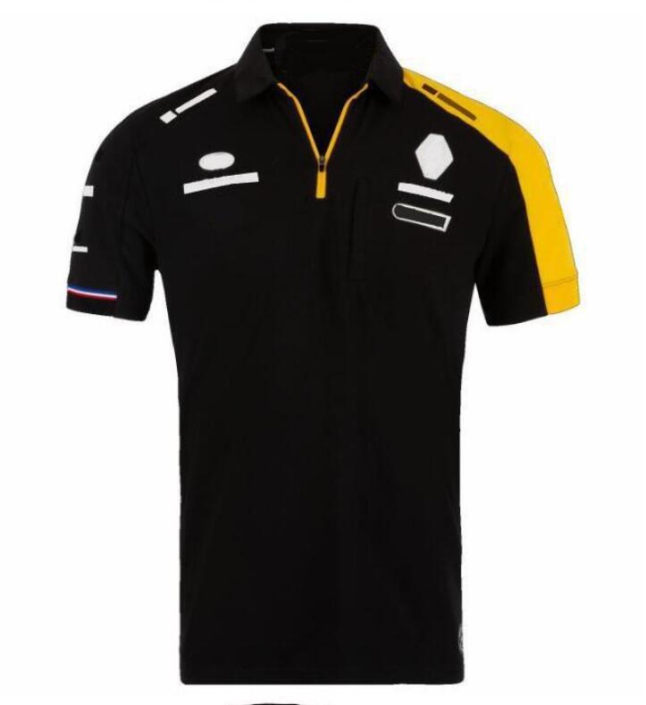 2020 NOUVEAU ÉTÉ Moto Moto Coureur Polo Chemise Polyester Séchage rapide Séchage cross-country Cyclisme Jersey Vapel T-shirt Evénement C