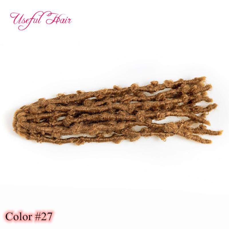 2021 새로운 패션 나비 크로 셰 뜨개질 머리카락 확장 화학 섬유 머리카락 아프리카 브레이드 나비 뜨개질 스팟 12 인치 나비 locs