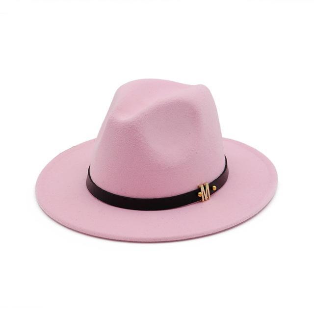 60cm hommes femmes large bord de laine feutre chapeaux de style britannique chapeau de jazz trilby fête panama fedora chapeau