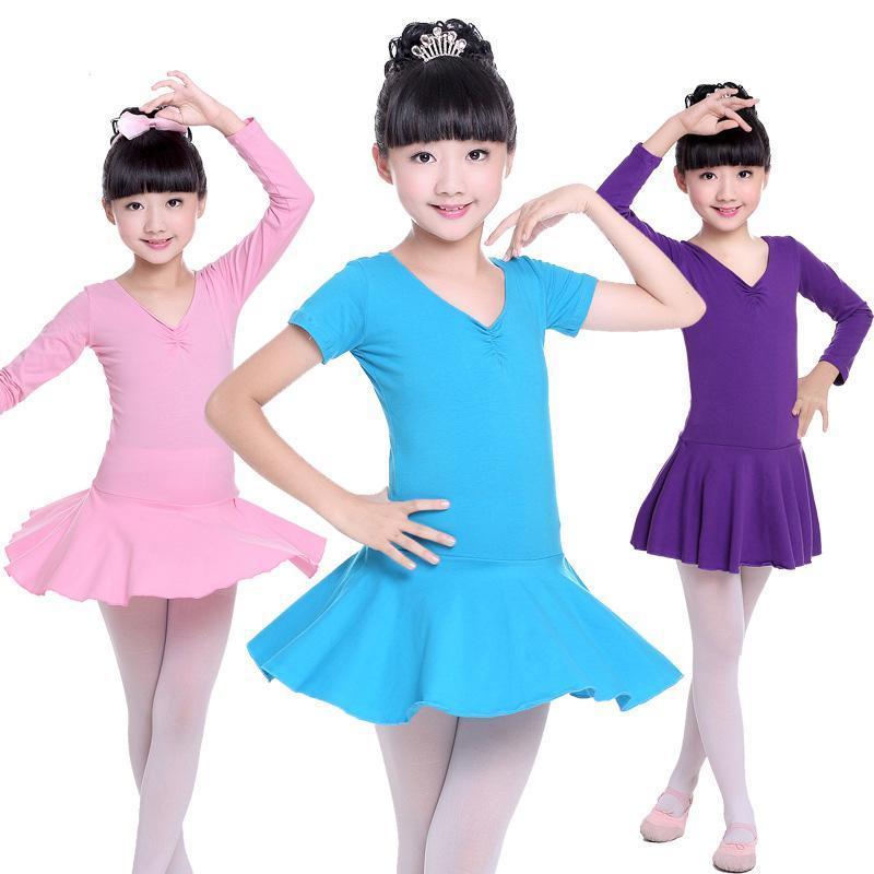Bambini Ballerina Blue Ballet Dress Leotards Gymnastics Tutu For Girls Kids Dance Costumes Dancing Vestiti Abbigliamento Ballerino Abbigliamento Abbigliamento