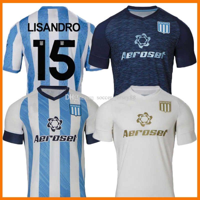 2021 2022 Racing Club Soccer Jerseys Camisetas Tomás Chancalay Fertoli Churry Rojas Barbona CVITANICH TERCER MORENO 21 22 HOGAR LOWER LORENZO MELGAREJO CAMISAS DE FÚTBOL