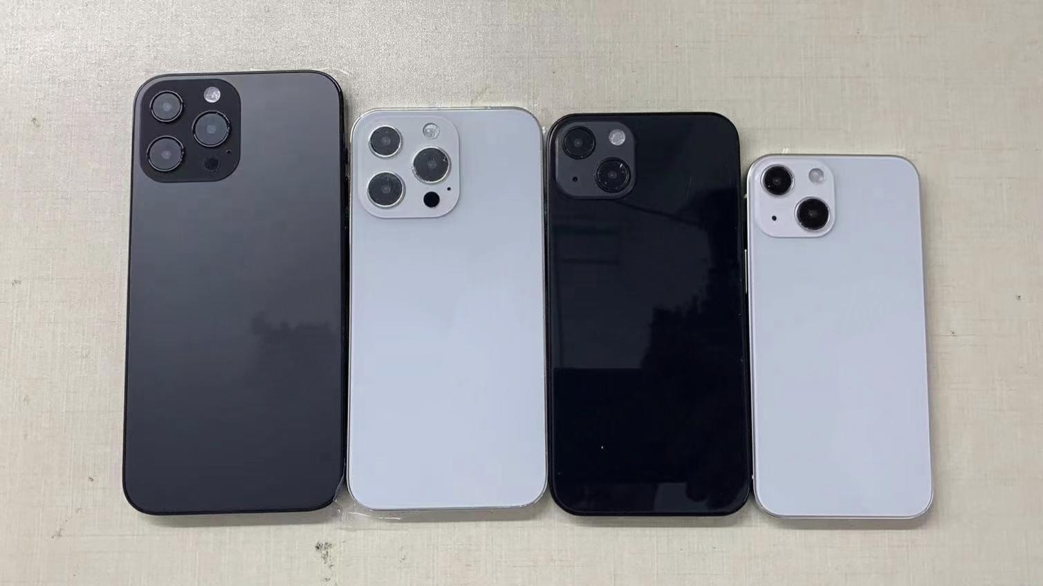 Per iPhone 13 13mini 13Pro 13Pro Max Falso Mold Dummy per iPhone 13 Dummy Telefono cellulare Machine Solo per la visualizzazione non funzionante