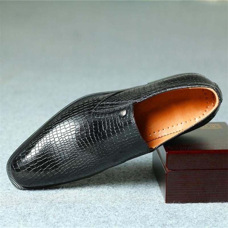 40 ~ 46 hommes Chaussures en cuir confortable Business stylish Business Mens Classic Chaussures # KD6263C1 210316