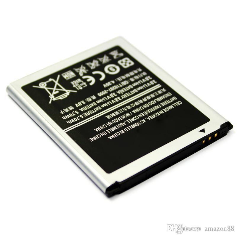 2020 Yeni S3 Mini Yedek Pil EB425161LU 3.8 V 1500 mAH I8160 ACE 2 Trend S3 Mini Pil