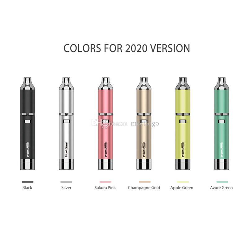 Neue Version E-Zigaretten-Kits Authentic Yocan Evolve Plus Wachsstift mit QDC-Quarzspulen Dabber-Zerstäuber-Vape-Trockenkräuter-Öl-Verdampfer-Kit