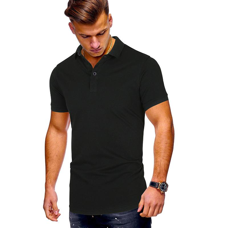 Casual Hommes Polo Shirt Marques Vêtements Street Summer Loisirs Shirt Homme Poloshirt Hommes Plus Taille Polo Chemises grandes taille 3XL