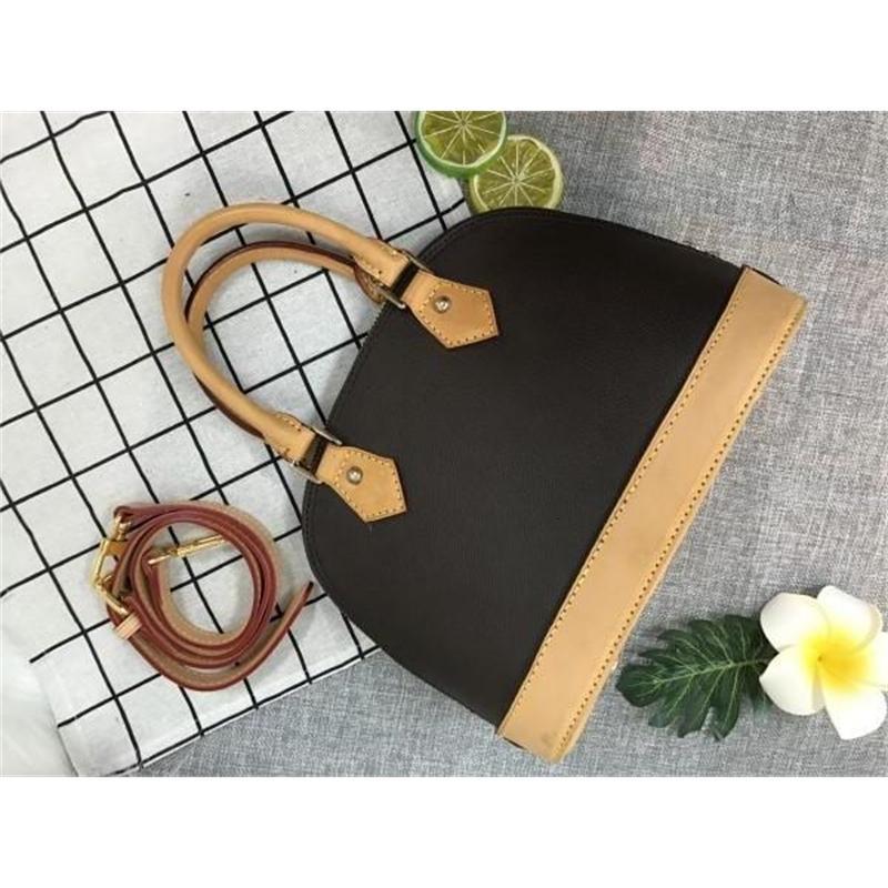 Bolso de bolsos oxidando la marca High Harbags Diseñador de cuero Calidad real GDTIL BB ALMA 100% JWOns