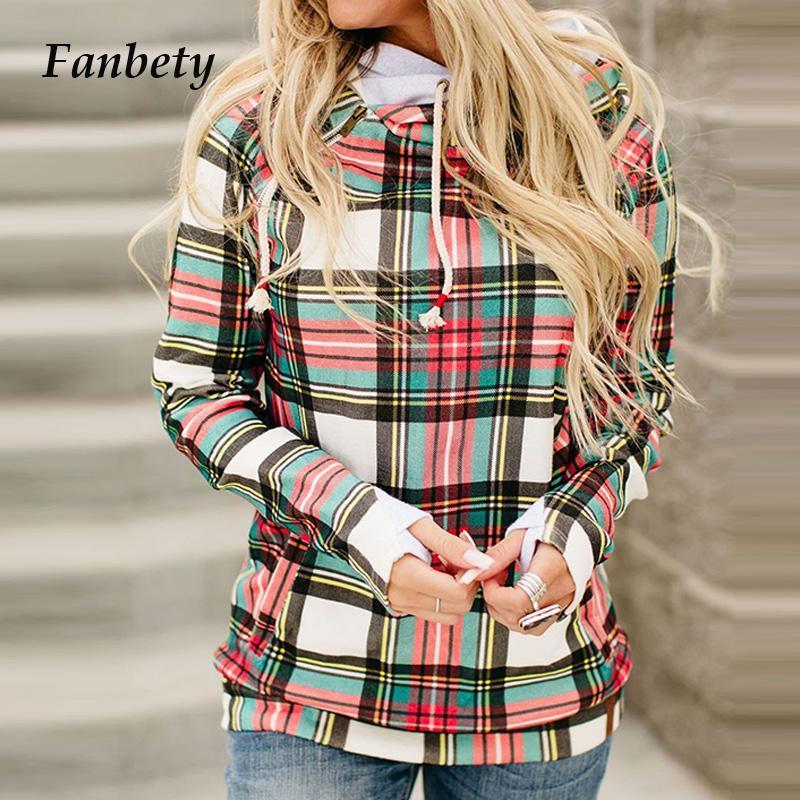 Damen Hoodies Sweatshirts 2021 Frauen Vintage Print Kordelzug Herbst Casual Turtscheck Warme Pullover Tops Elegante langarm Patchwork