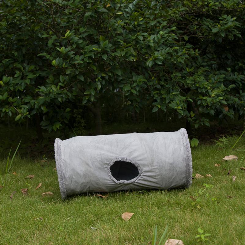 Jouets de chat petits animaux pliables joueur tunnel furet pig hamster hamster suède tubes drôles produits animaux produits