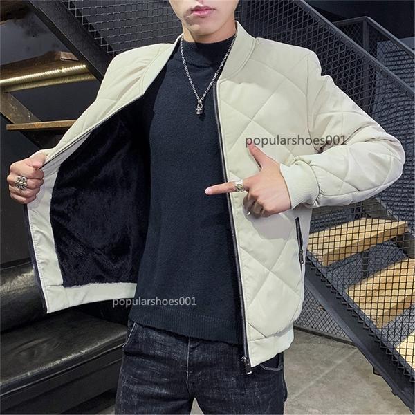 2021 Top Giacca da uomo di alta qualità Cappotto rotondo Colletto a maniche lunghe Giacca a colori Soild Aggiungi vestiti in lana Abbigliamento maschio nero bianco verde