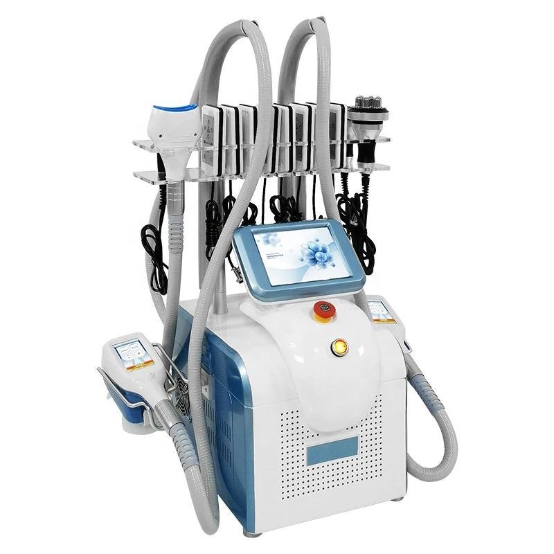 Taşınabilir Cryolipolysis Yağ Donma Zayıflama Makinesi Vakum Yağ Azaltma Kriyoterapi Kriyo Yağ Dondurucu Makine LLLT Lipo Lazer Ev Kullanımı