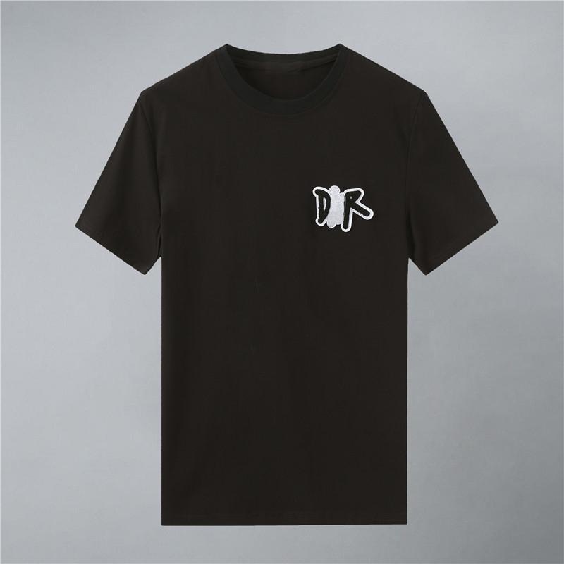 2021Mens дизайнеры футболки мужская одежда футболка футболка мода летние мужские пальто прилив заброшенные буквы печатные роскошные мужчины рубашка одежда W448