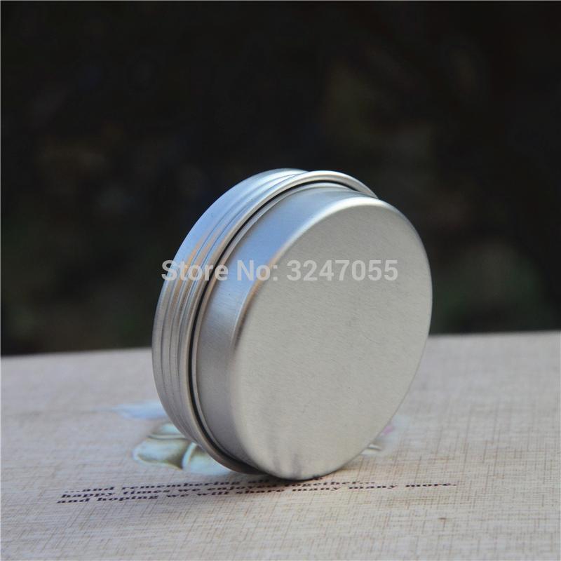 20-25 g / ml Tarro de crema de aluminio vacío de alta calidad, contenedor de máscara cosmética profesional de viajes, almacenamiento de estaño de almacenamiento