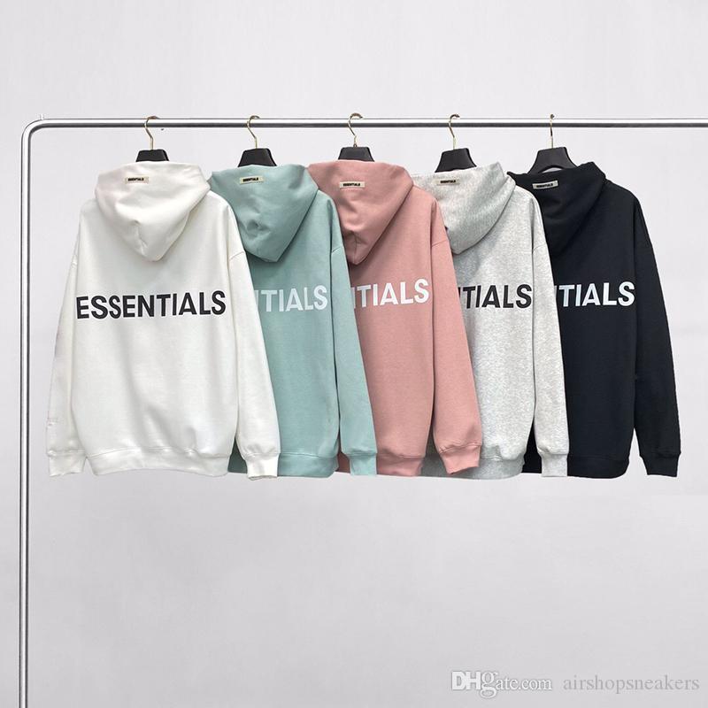 Essentials Hoodies Herren Womens Fashion Streetwear Pullover Sweatshirts Lose Liebhaber Tops Kleidung