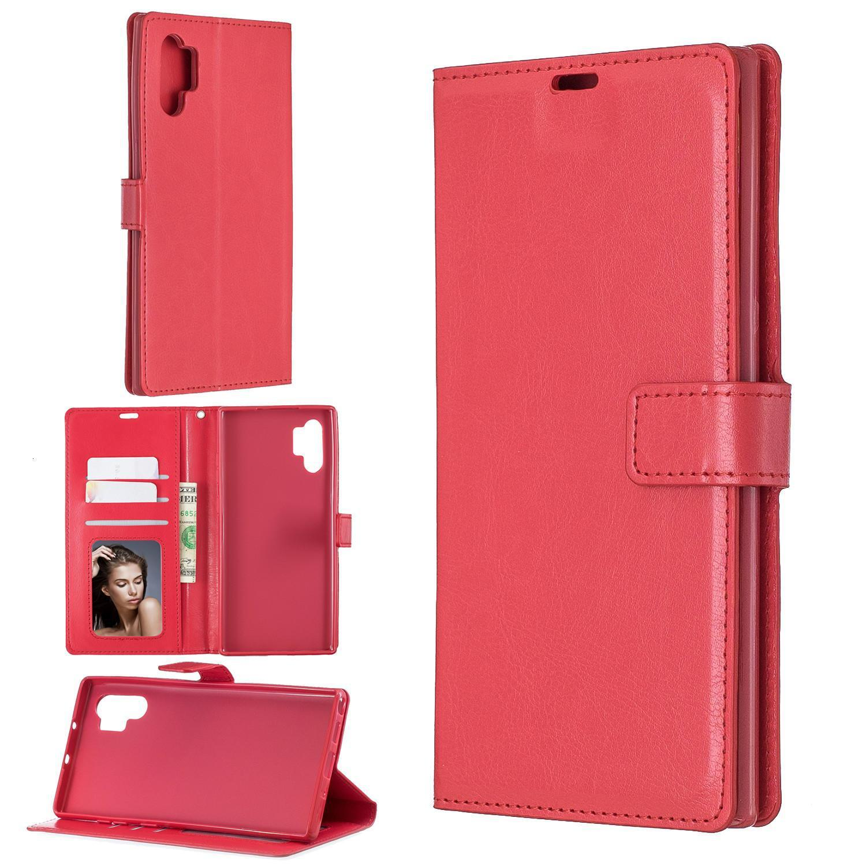 Caja de la cartera de la cartera de cuero de PU para Samsung Galaxy Note 8 9 10 Plus S7 Edge S8 S9 S10 PLUS S10E 5G TPU